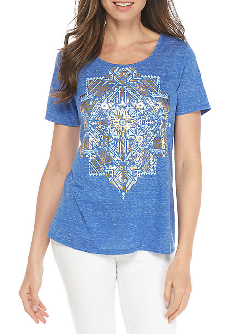 Kim Rogers® Short Sleeve Graphic Tee