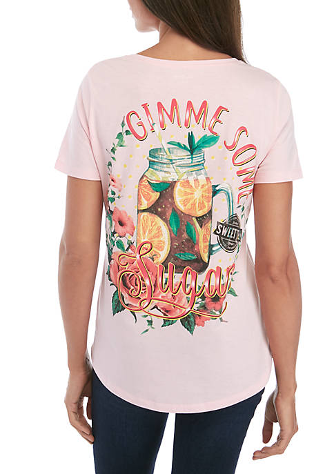 Kim Rogers® Short Sleeve Gimme Some Sugar Graphic
