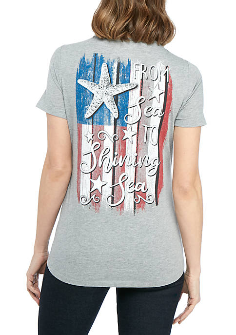 Kim Rogers® Sea to Shining Sea T Shirt