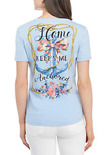 Short Sleeve Anchor Tee Shirt