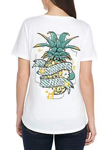 Short Sleeve PIneapple Sweet Life Tee Shirt