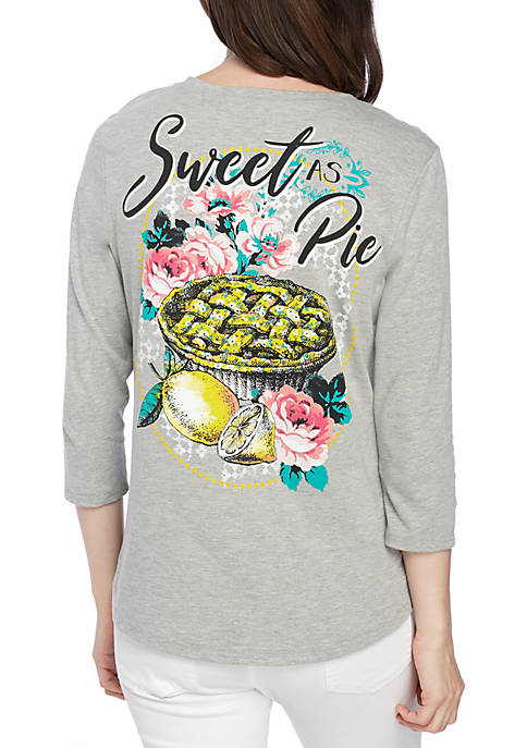 Kim Rogers® Sweet As Pie Shirt