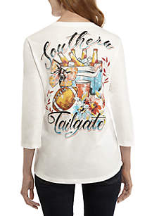 3/4 Sleeve Southern Tailgate