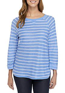 Kim Rogers® Textured Sweatshirt