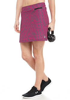 be inspired® Triangle Print Skort