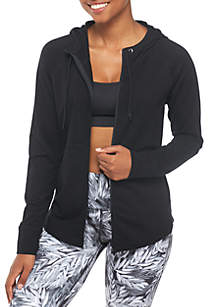 Fleece Hoodie Full-Zip Sweatshirt
