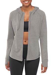 Fleece Hoodie Full-Zip Sweatshirt