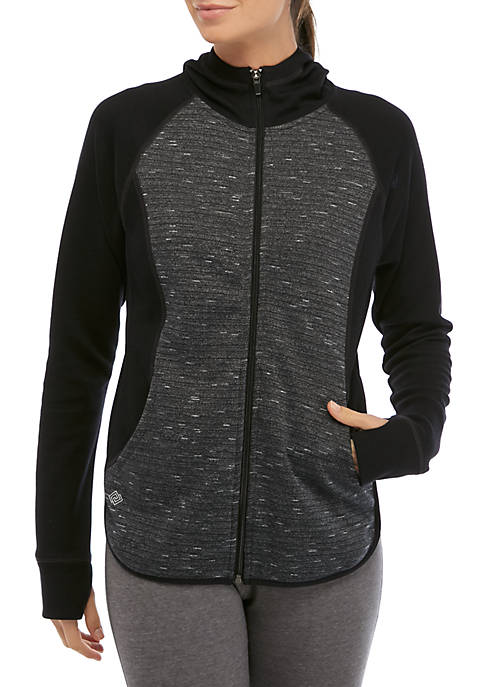 Womens Full Zip Pullover
