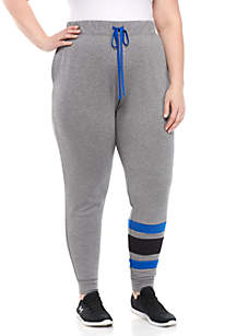 Plus Size French Terry Jogger