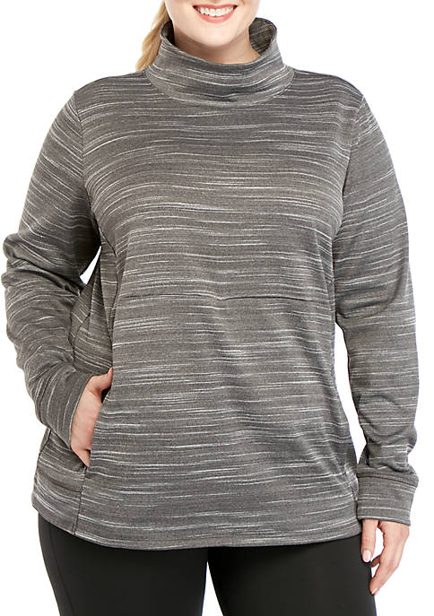 Plus Size Performance Fleece Pullover