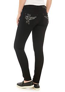 Bird Skinny Black Jeans