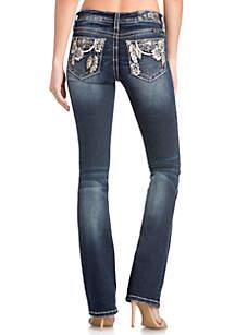 Medium Wash Bootcut Dream Catcher Jeans
