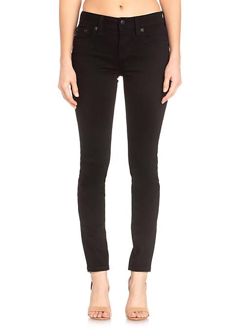 Hailey Skinny Fleur De Lis Jeans