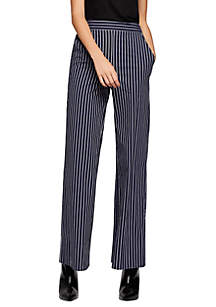 Palazzo Striped Long Pants