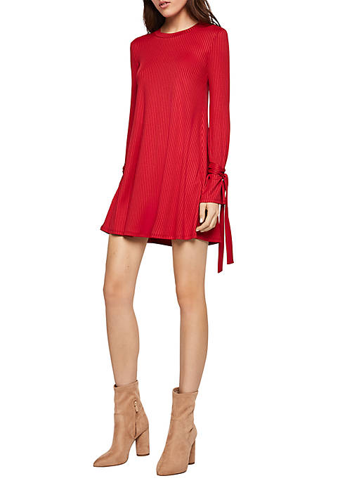 BCBGeneration Tie Wrist A Line Dress