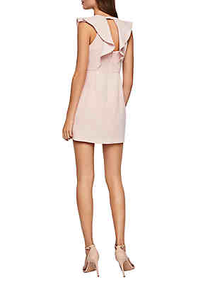 696c88324ca ... BCBGeneration Peek-A-Boo Ruffle Dress