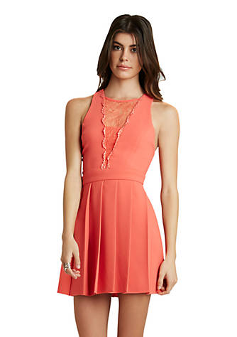 5a4259ecb4 BCBGeneration Racerback Fit-and-Flare Dress