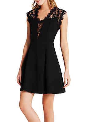 e58b971730c BCBGeneration Lace Back Dress ...
