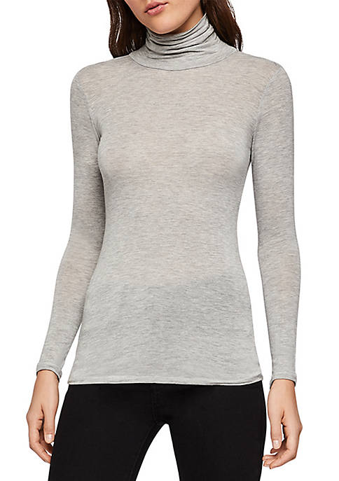 BCBGeneration Long Sleeve Layering Turtleneck Top