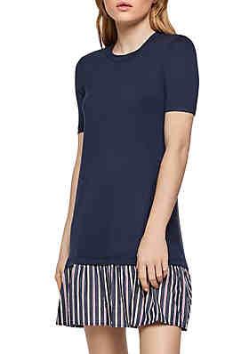 5c54accf91b BCBGeneration Mixed Media T Shirt Dress ...