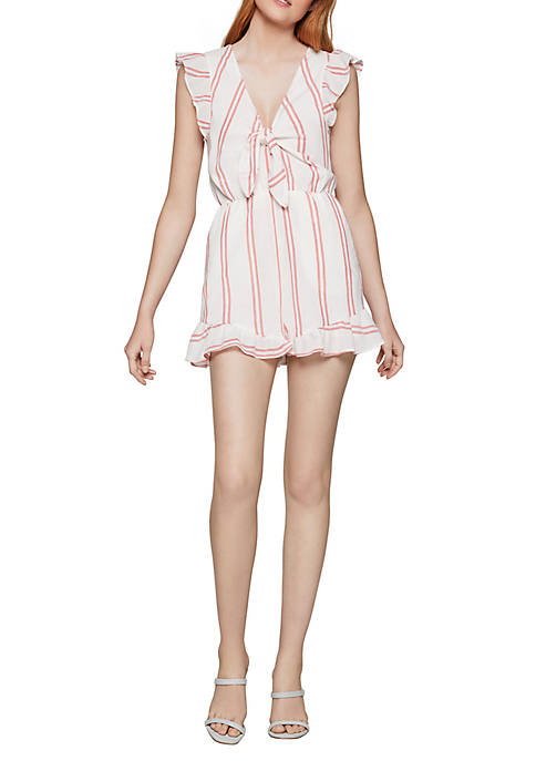 BCBGeneration Stripe Romper