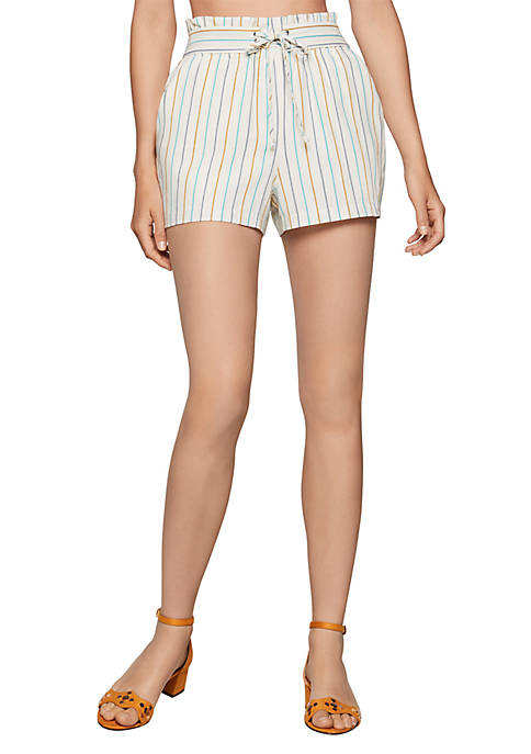 BCBGeneration Tie Front Shorts