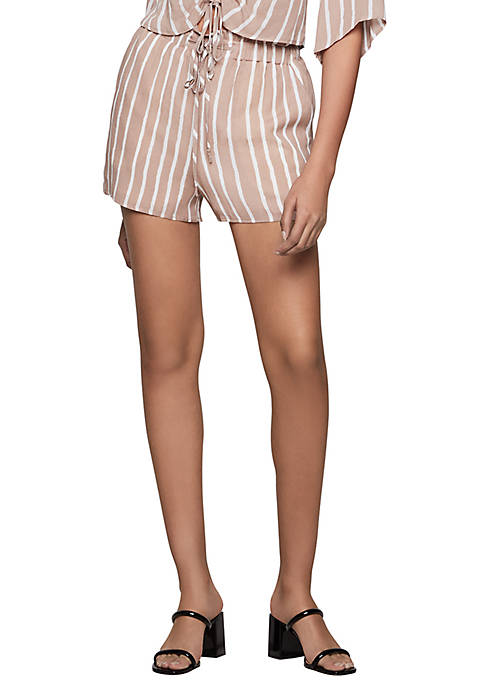 BCBGeneration Striped Shorts