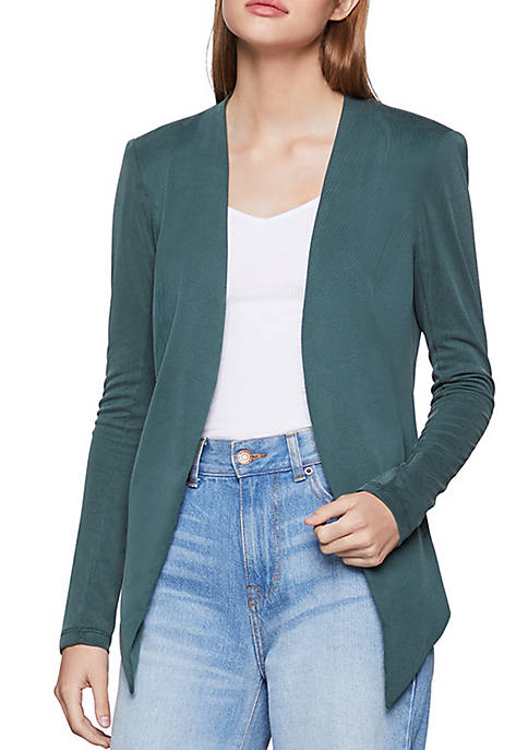 BCBGeneration Womens Welt Pocket Tuxedo Blazer