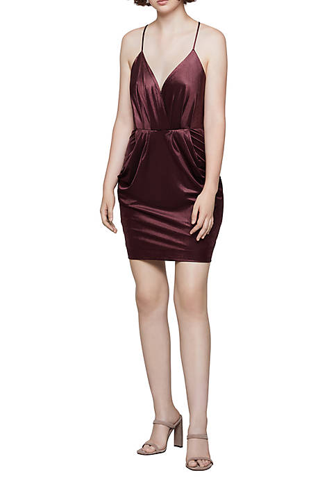 Drape Pocket Dress