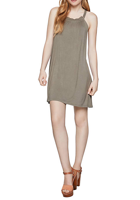 BCBGeneration Sleeveless Tri Cutout Dress