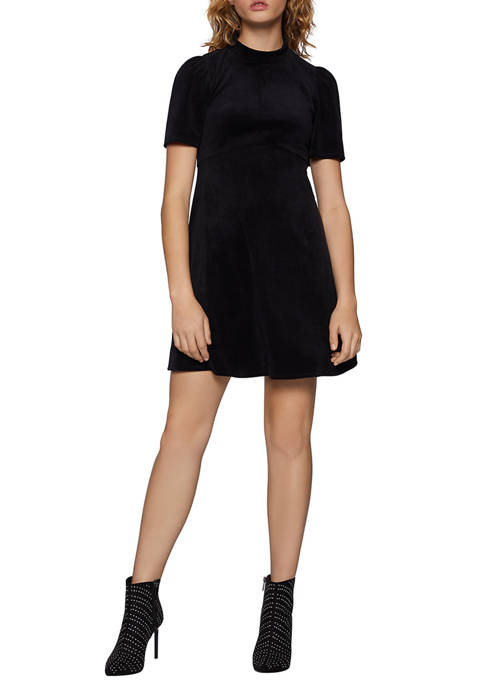 BCBGeneration Womens Velour Dress