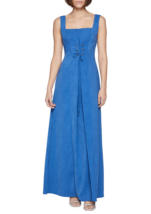 BCBGeneration Womens Corseted Gown