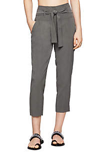 BCBGeneration Wide Waist Cropped Pants