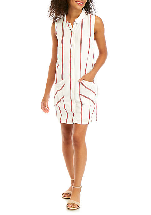 BCBGeneration Sleeveless Woven Day Dress