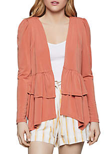 BCBGeneration Double Tiered Peplum Jacket