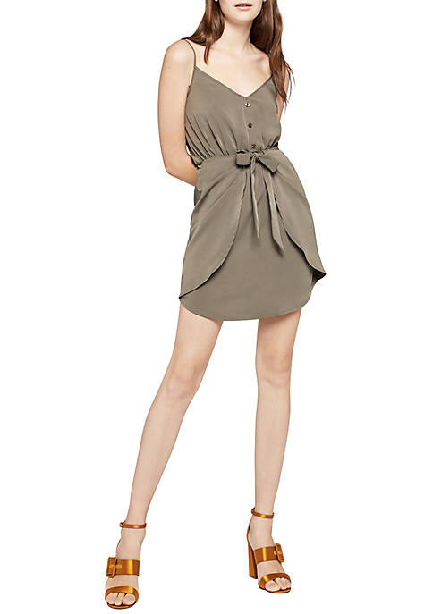 BCBGeneration Tie Front Cami Dress