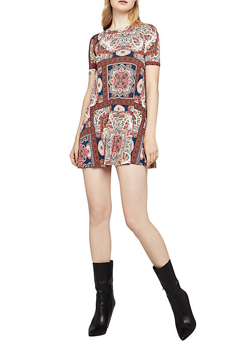 BCBGeneration A-Line Printed Dress