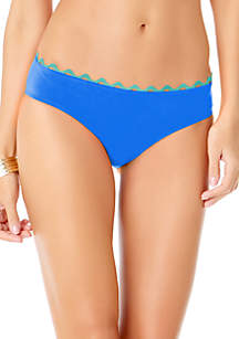 Anne Cole® Ric Rac Solid Hipster Swim Bottoms