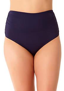 Anne Cole® Plus Size High Waist Swim Bottoms