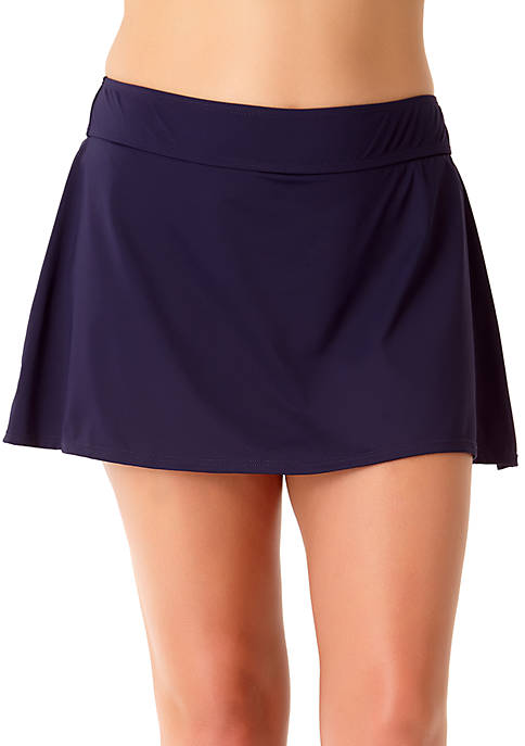 Anne Cole® Plus Size Classic Swim Skirt