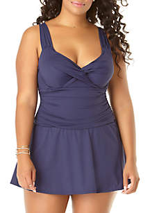 2e8264a647 ... Anne Cole® Plus Size Swim Dress