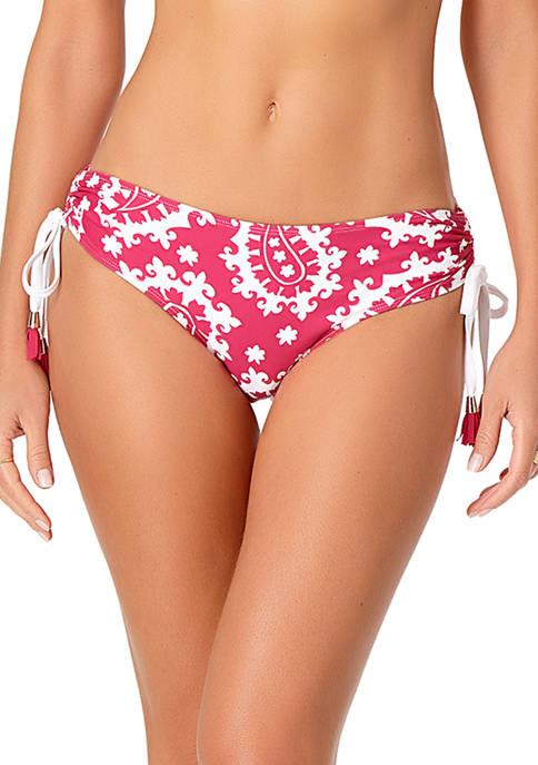 Anne Cole® Alex Side Tie Tassel Swim Bottoms