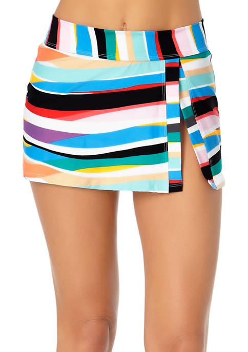 Anne Cole Signature® Front Slit Swim Skirt