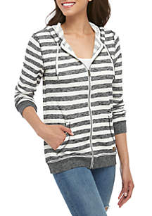 Roxy Trippin Stripes Fleece Jacket