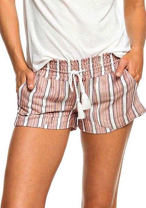 Oceanside Striped Shorts