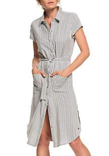 Roxy Sunday Morning Collar Dress