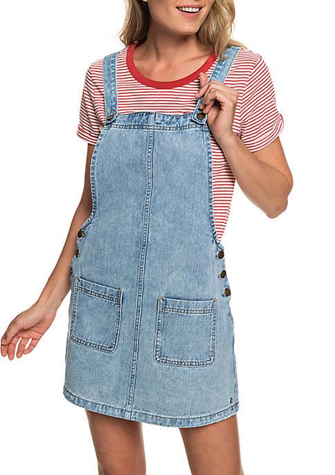 Love To Travel Dungaree Dress