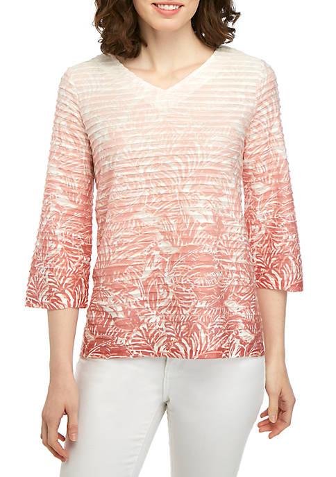 Kim Rogers® 3/4 Sleeve Sublimation T Shirt