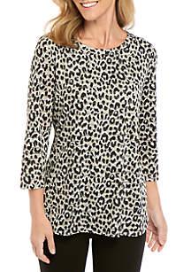 Kim Rogers® Shadow Stripe Tunic