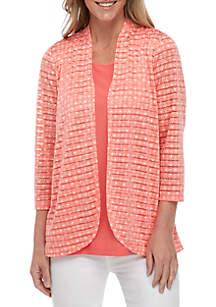 Kim Rogers® Crochet 2 Fer Top